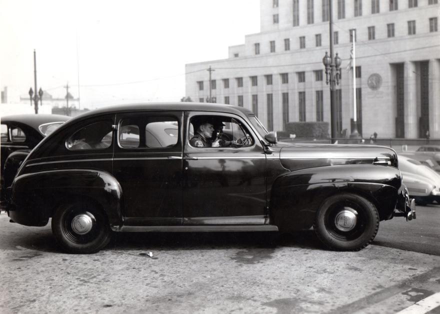 1940s Patrol Car