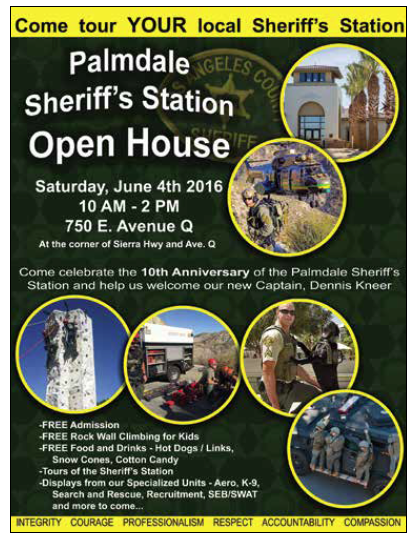 Palmdale tation Open House