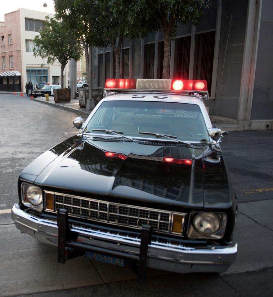 Patrol Car w/ Electronic Siren