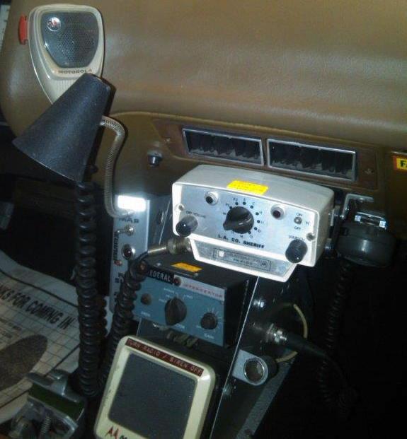 Patrol Car w/ Radio