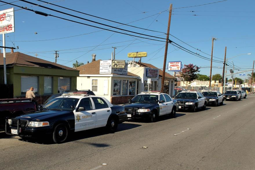 Unattended Patrol Cars