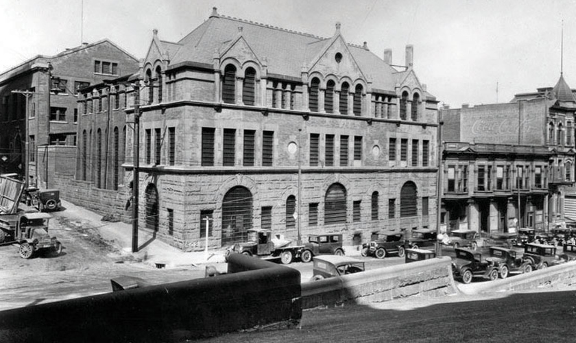 1921: Old County Jail and Hall of Justice