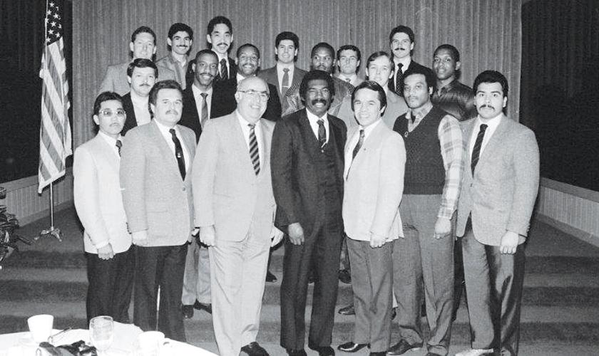 1986 Sheriff's Boxing Team