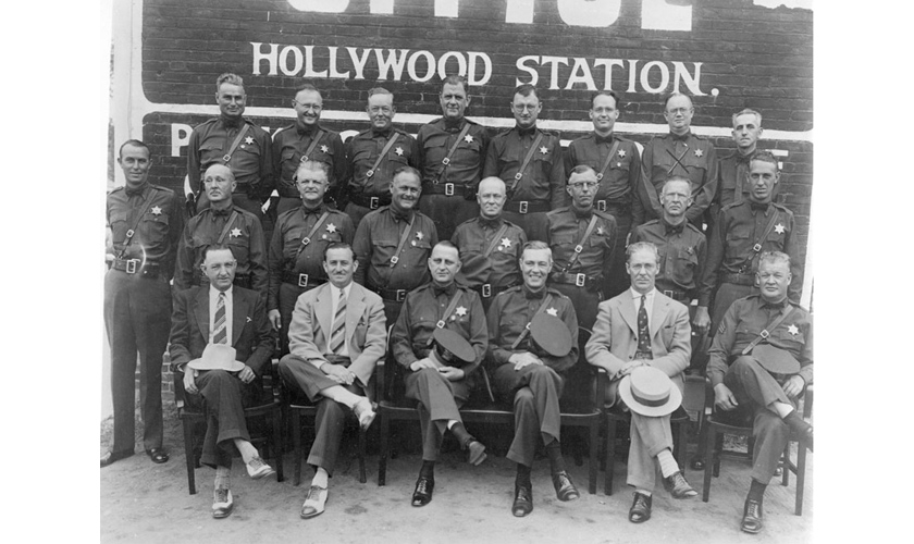 1930s: Hollywood Sheriffs