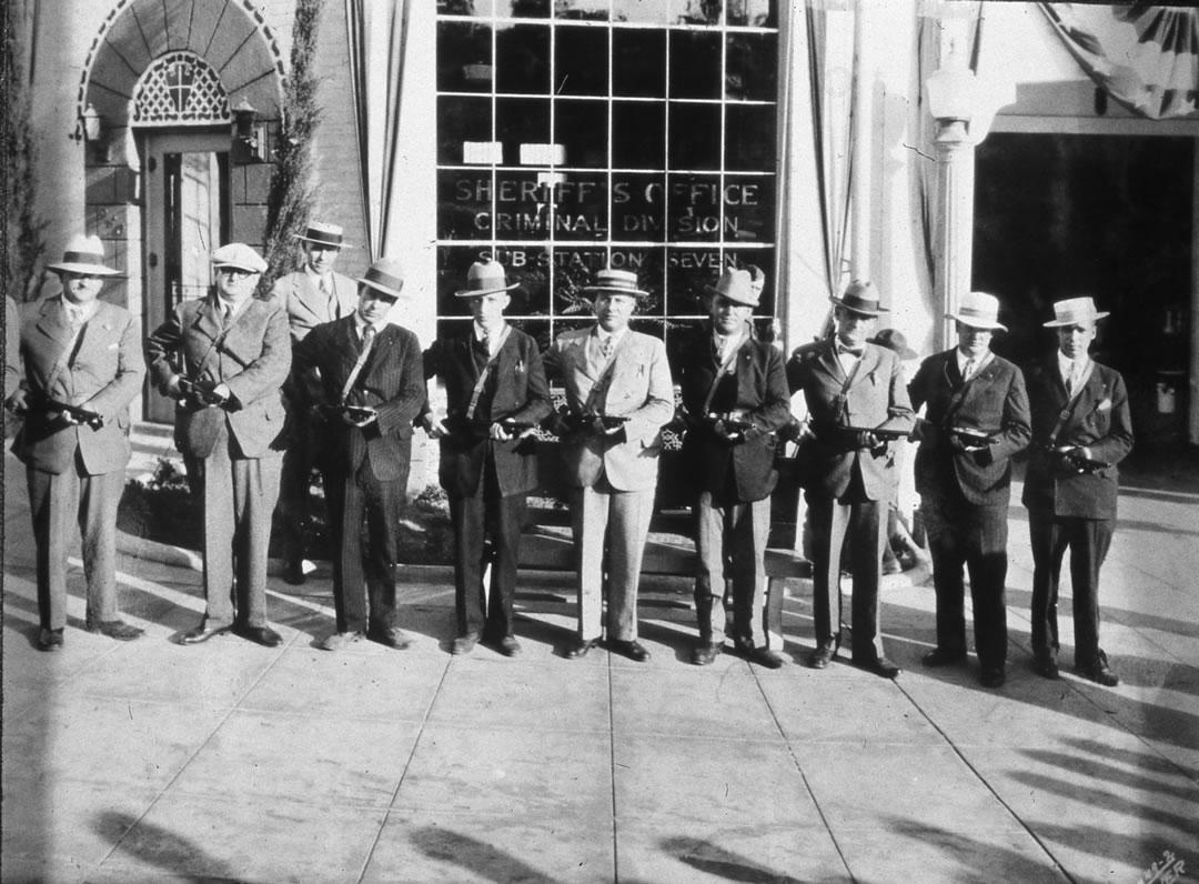 Deputies at Altadena 1928