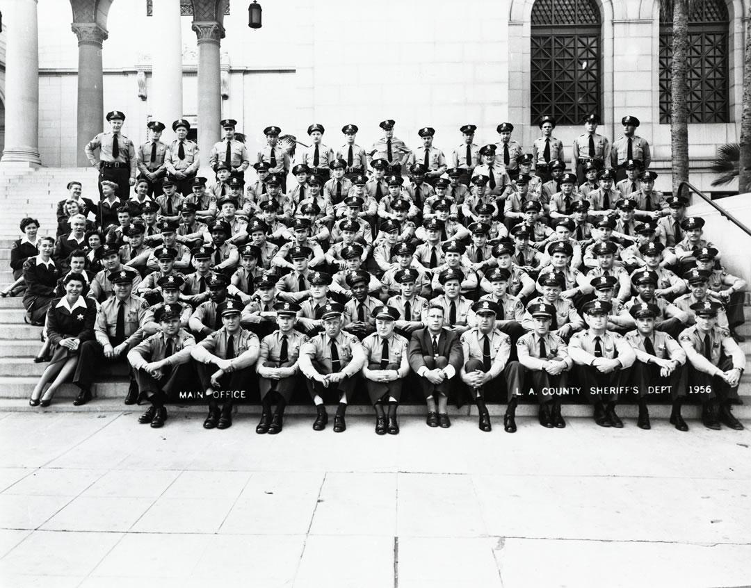 HOJJ Staff 1956 Main Office