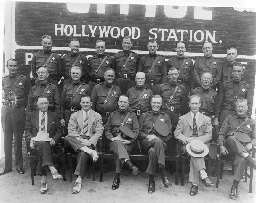 Hollywood Sheriffs 1930s