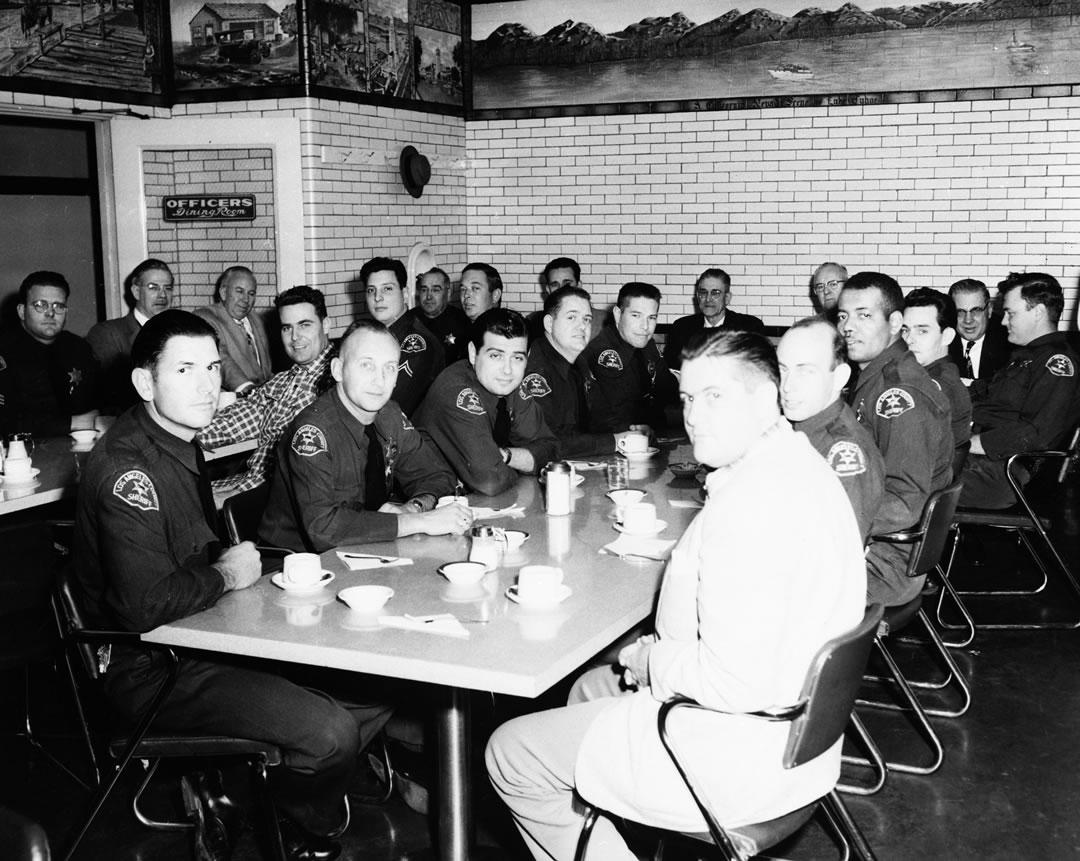 Officers Dinning Room 1953