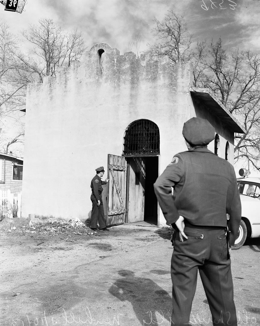 Old Newhall Jail 1952