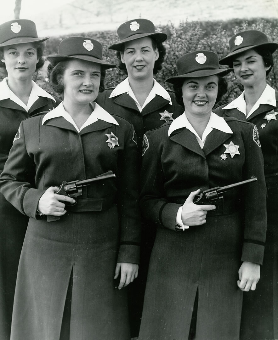Women's Pistol Team 1950s