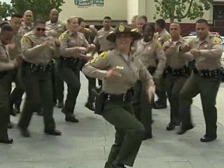 LASD Running Man