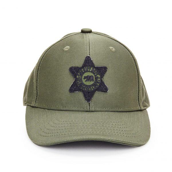 Class B Green Cap/Black Patch