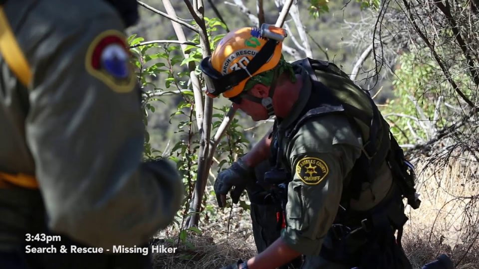 Search and Rescue Hiker