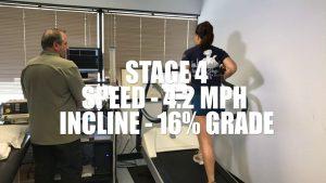 Bruce Protocol Treadmill Test